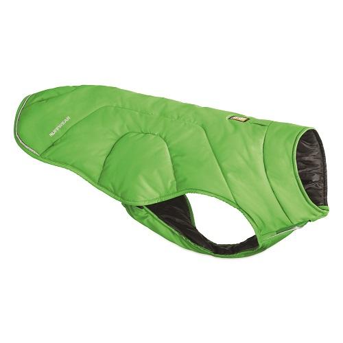 Ruffwear zimní bunda pro psy, Quinzee jacket, zelená, velikost L
