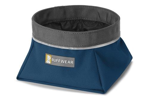 Ruffwear miska pro psy, Quencher, tmavě modrá, veikost L