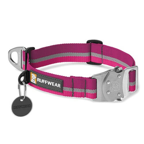 Ruffwear obojek pro psy, Top Rope Dog Collar, fialový, velikost S