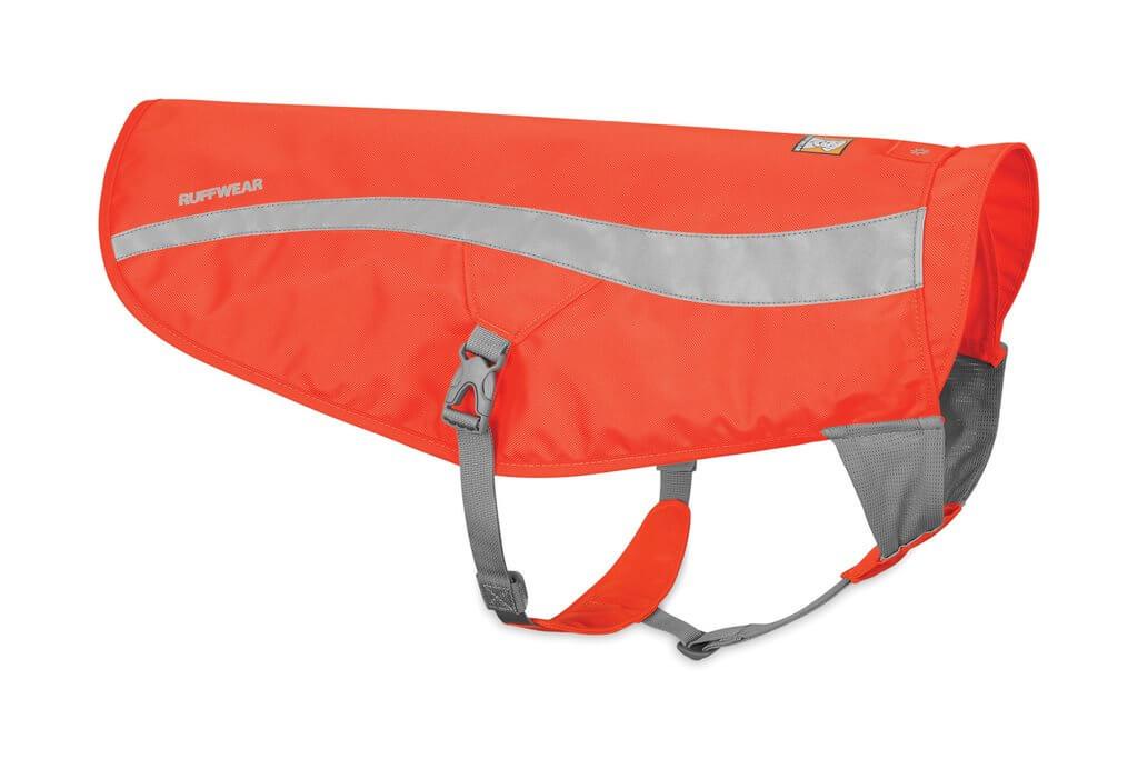 Ruffwear reflexní bunda pro psy, Track Jacket, oranžová, velikost S/M