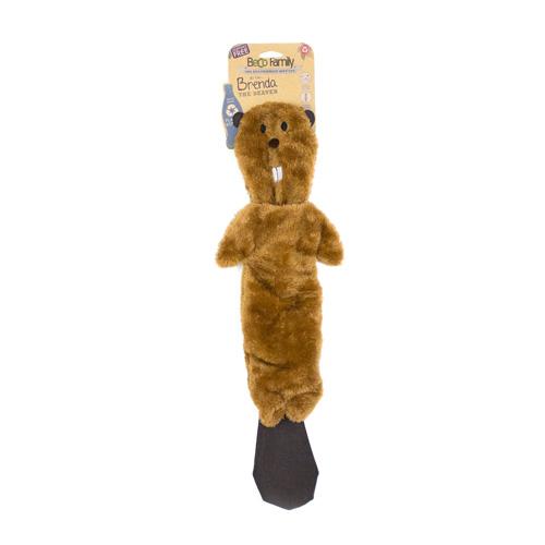 BeCoThings hračka pro psa Beco Famil, bobr Brenda
