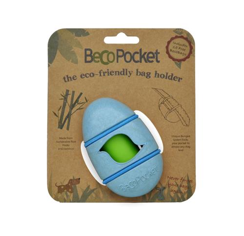 Pouzdro na sáčky BecoPocket, EKO-blue