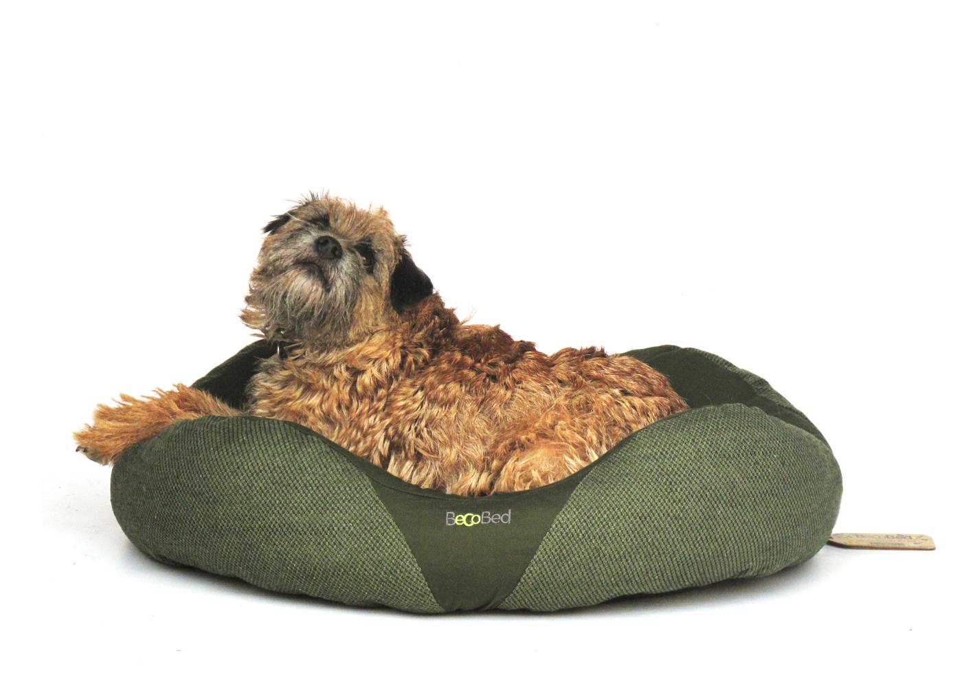 Pelech pro psa, Beco Bed Donut M 52cm - Zelená