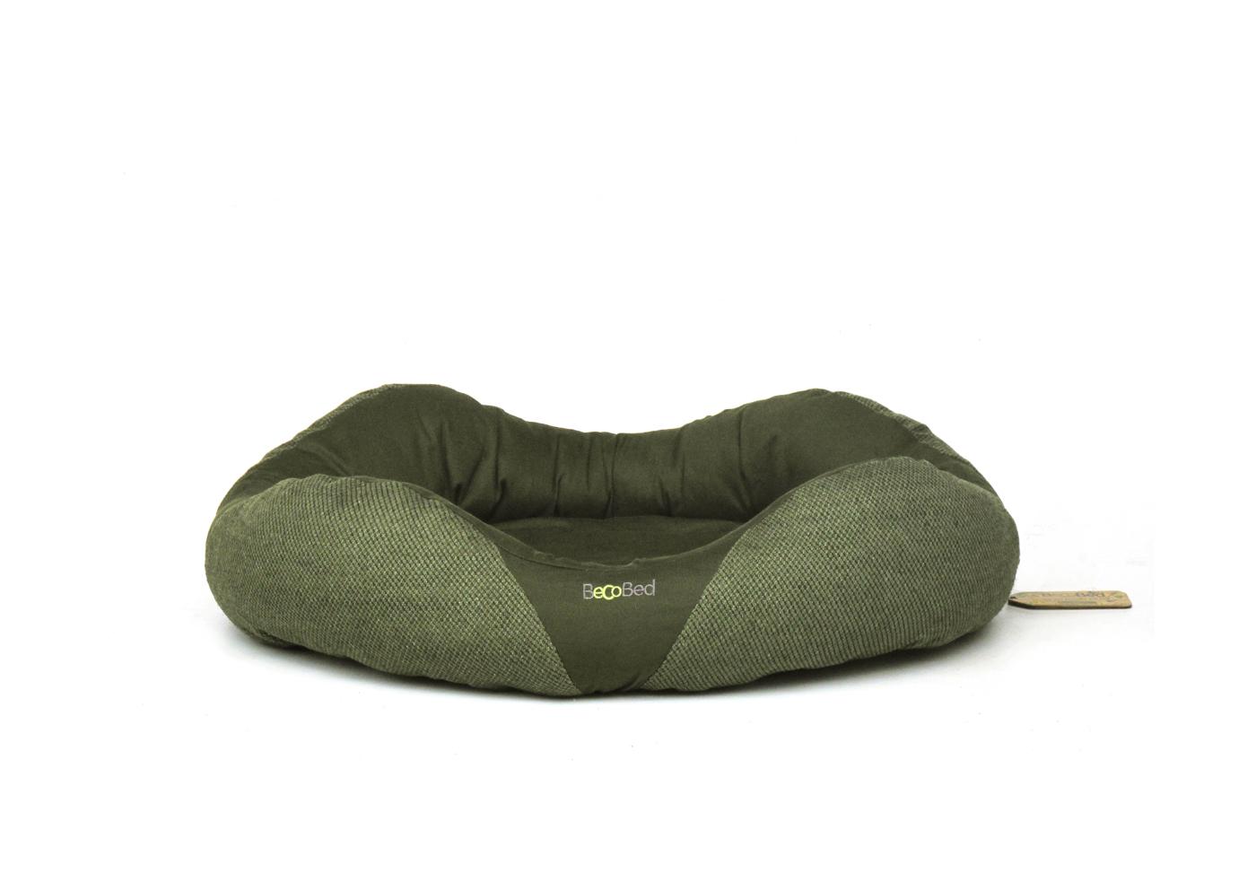 Pelech pro psa, Beco Bed Donut S 45cm - Zelená