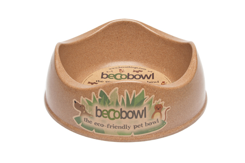 Miska pro psa, BecoBowl, EKO-brown-L