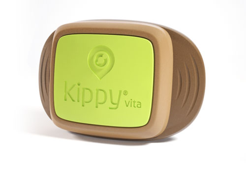 GPS obojek Kippy Vita- green-eye