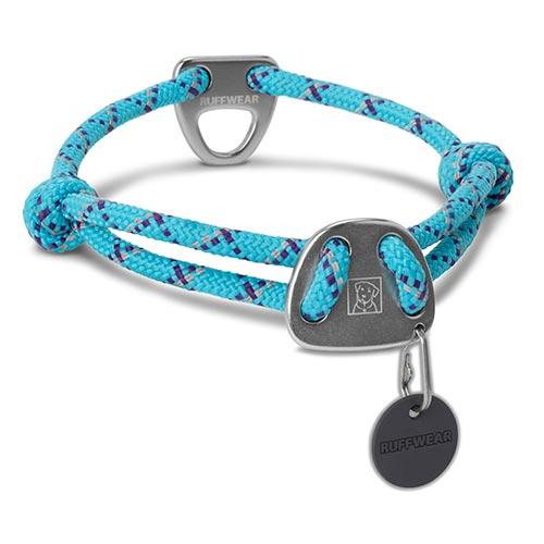 Ruffwear obojek pro psy Knot-a-Collar, modrý, velikost M