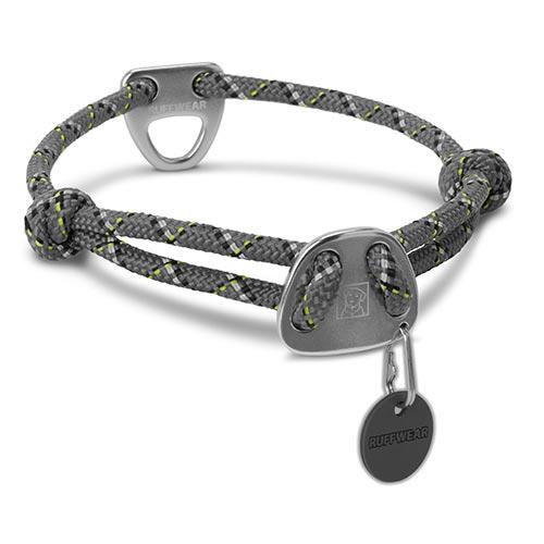 Ruffwear obojek pro psy Knot-a-Collar, šedý, velikost L