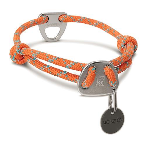 Ruffwear obojek pro psy Knot-a-Collar, oranžový, velikost M