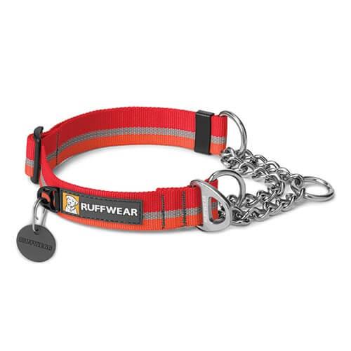 Ruffwear obojek pro psy Chain Reaction Dog Collar, červený, velikost M