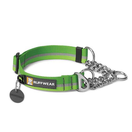 Ruffwear obojek pro psy Chain Reaction Dog Collar, zelený, velikost S