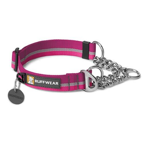 Ruffwear obojek pro psy Chain Reaction Dog Collar, fialový, velikost S