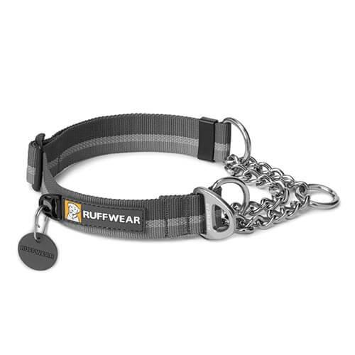 Ruffwear obojek pro psy Chain Reaction Dog Collar, šedý, velikost S