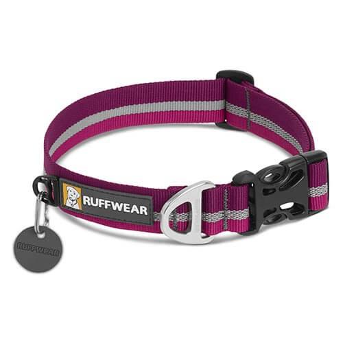 Ruffwear obojek pro psy Crag collar, fialový, velikost 28 - 36cm