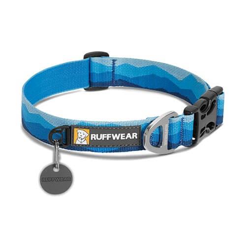 Ruffwear obojek pro psy, Hoopie Dog Collar, modrý, velikost L
