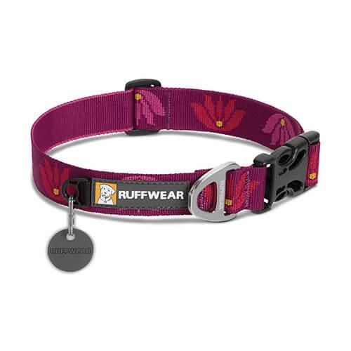 Ruffwear obojek pro psy, Hoopie Dog Collar, tmavě fialový, velikost S