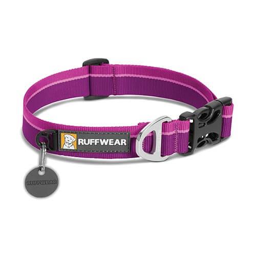 Ruffwear obojek pro psy, Hoopie Dog Collar, fialový, velikost L