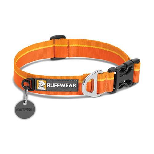 Ruffwear obojek pro psy, Hoopie Dog Collar, oranžový, velikost S