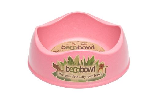 Miska pro psa, BecoBowl, EKO-pink-M