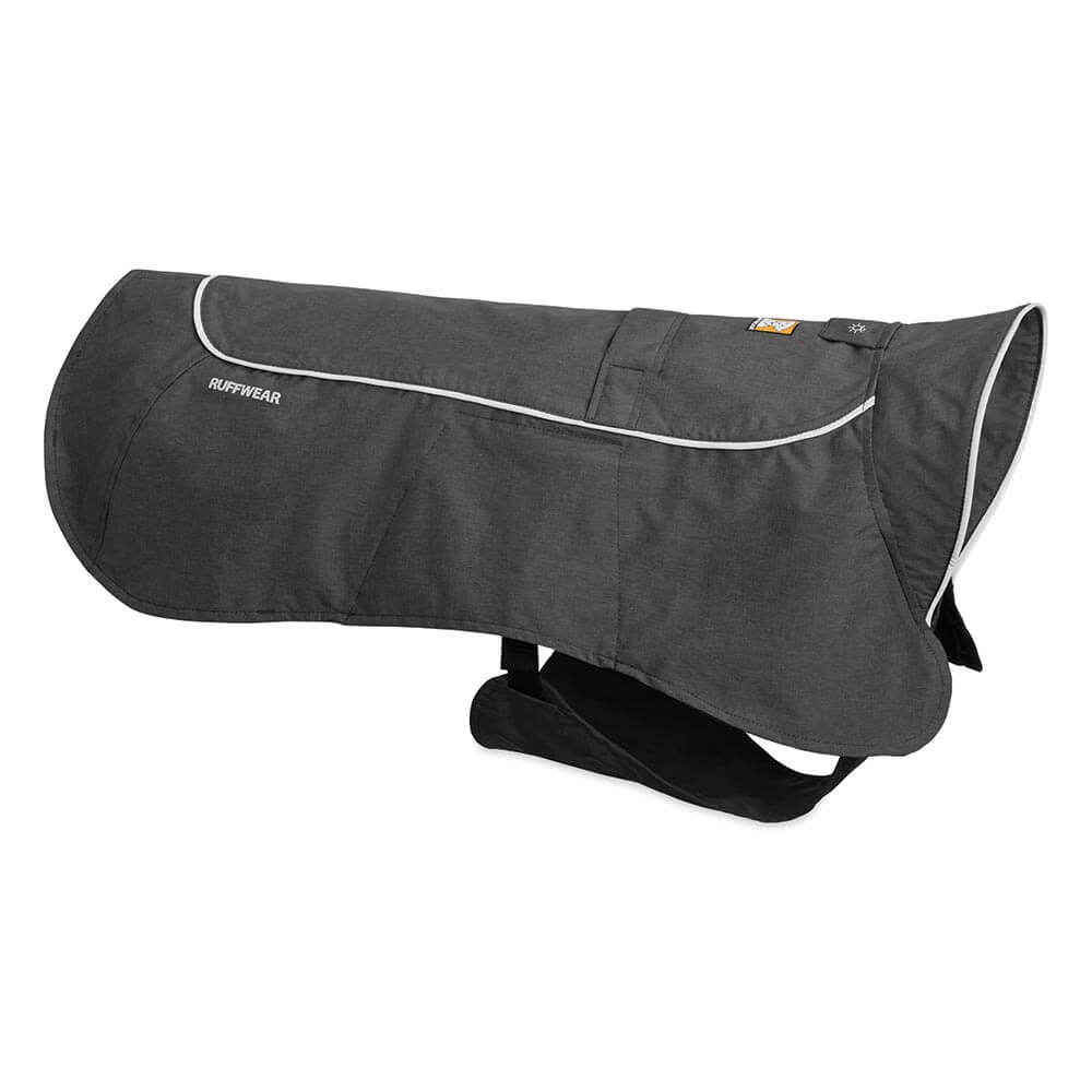 Ruffwear nepromokavá pláštěnka, Aira Waterproof Rain Jacket, šedá, velikost L