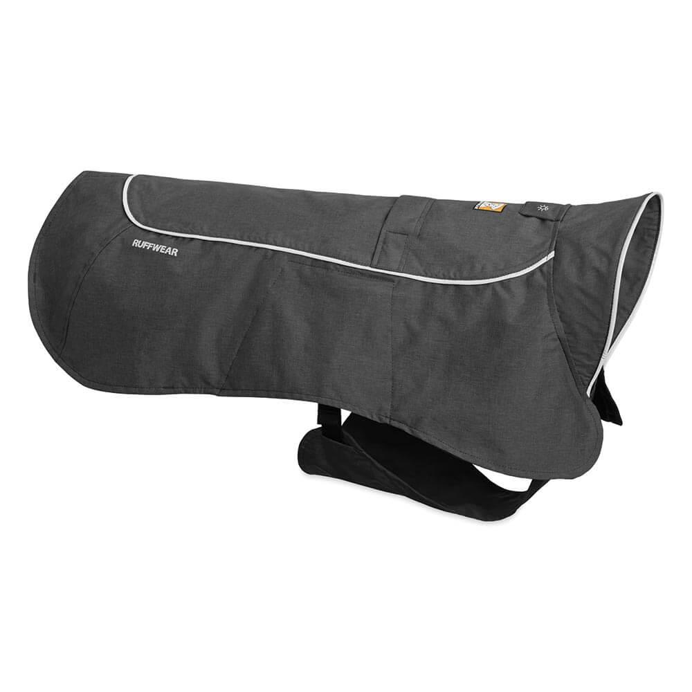 Ruffwear Nepromokavá pláštěnka, Ruffwear Aira Waterproof Rain Jacket, šedá, velikost XXS