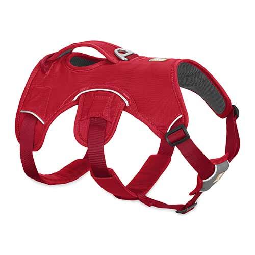 Ruffwear postroj pro psy, Web Master, červený, velikost S
