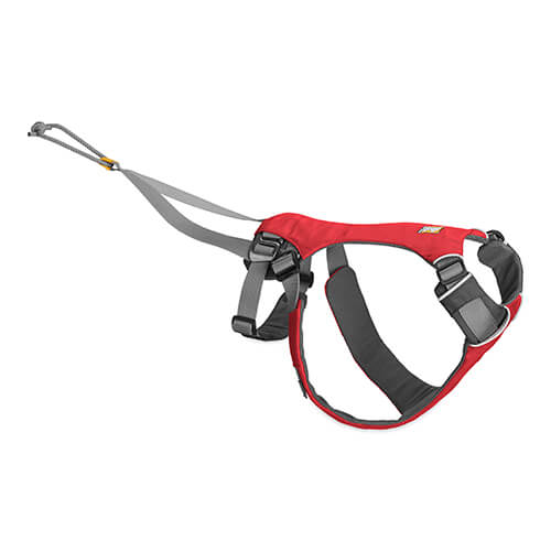 Ruffwear postroj pro psy, Omnijore Harness, červený, velikost L/XL