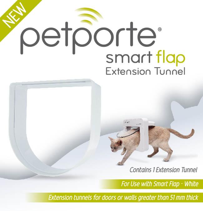 tunel k dvířkům PetPorte, bílý