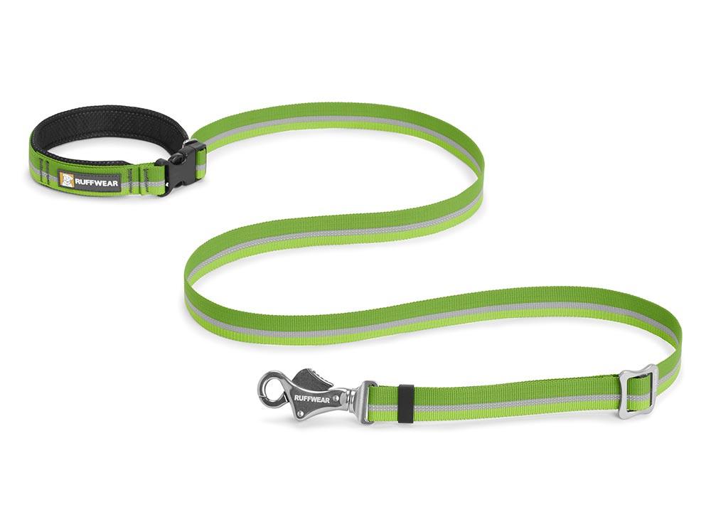 Ruffwear vodítko pro psy, Slackline Leash, zelené