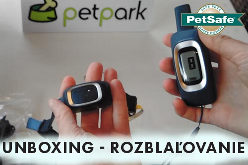 Elektronický obojek PetSafe100m  - unboxing video
