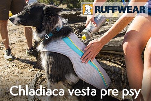 Běhání se psem - Chladící vesta pro psy