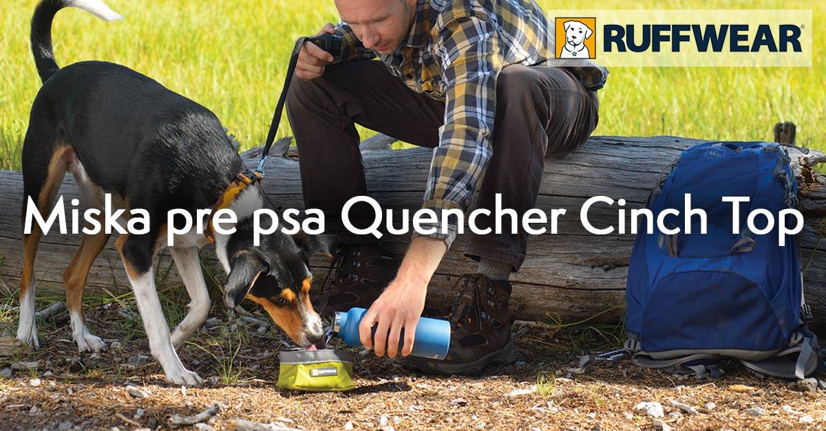 Miska pre psa Ruffwear Quencher Cinch Top