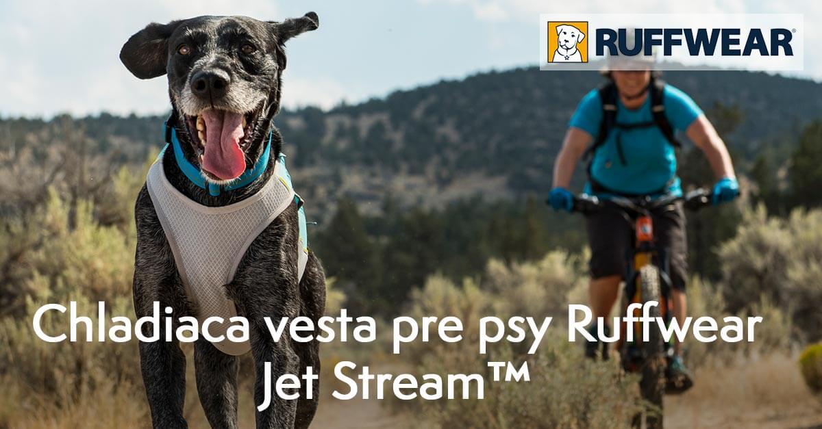 Chladiaca vesta pre psy Ruffwear Jet Stream™