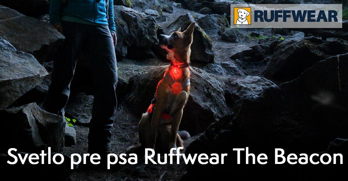 Bezpečnostné svetlo pre psa, Ruffwear - The Beacon™
