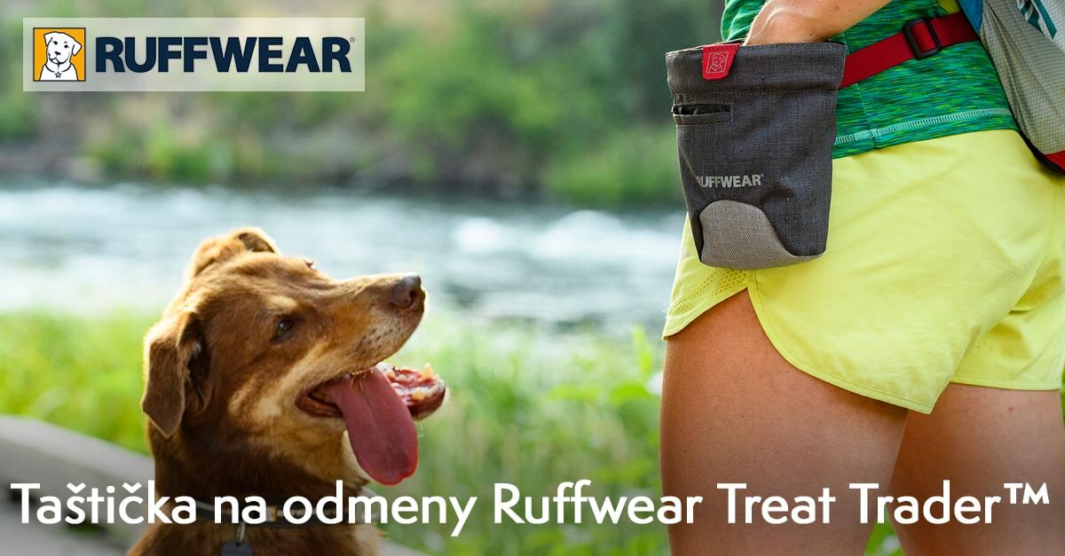Taštička na odmeny Ruffwear Treat Trader™ Bag